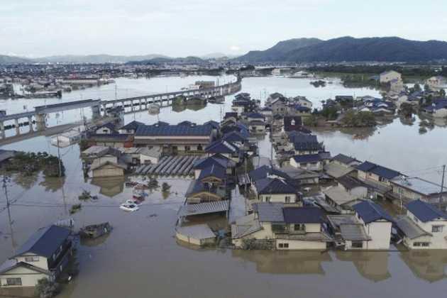 Japan flood help