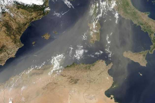 Sahara dust