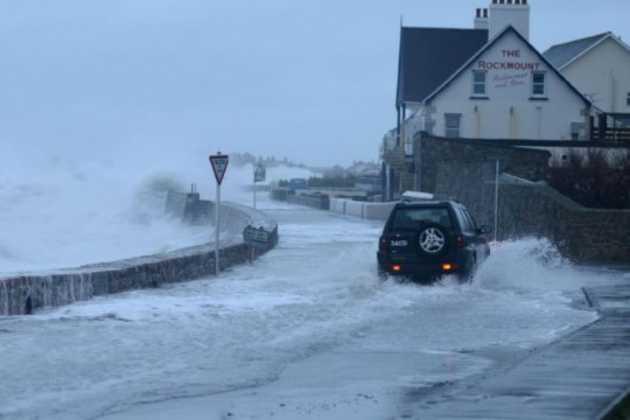 Coastal flooding in UK