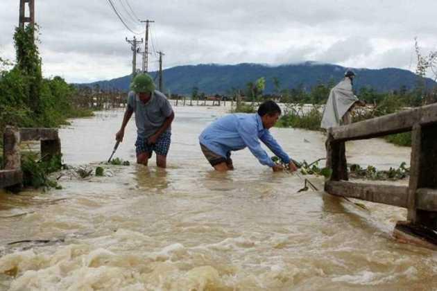 Flood in Vietnam