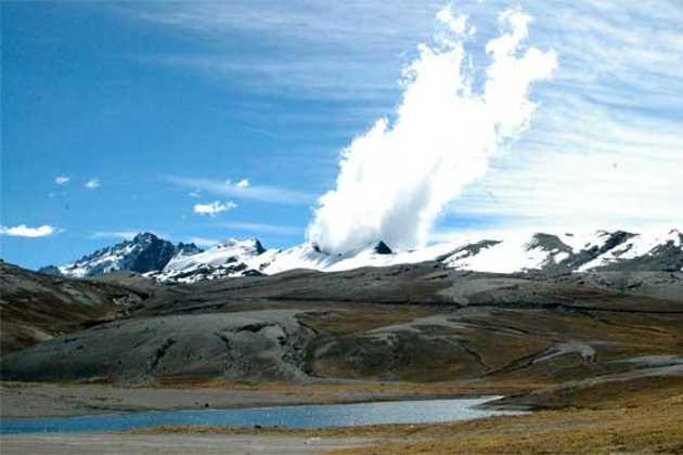 Bolivia national park Cotapata