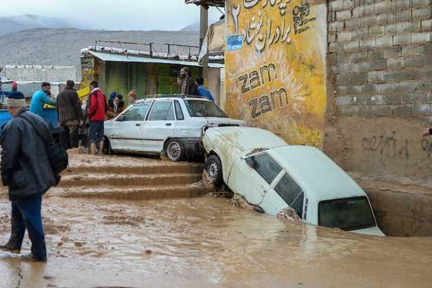 Iran flood victims
