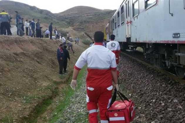 Iran relief train