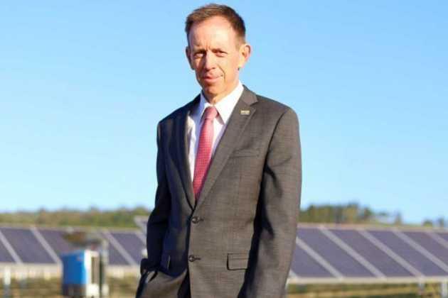 Climate Change Minister Shane Rattenbury