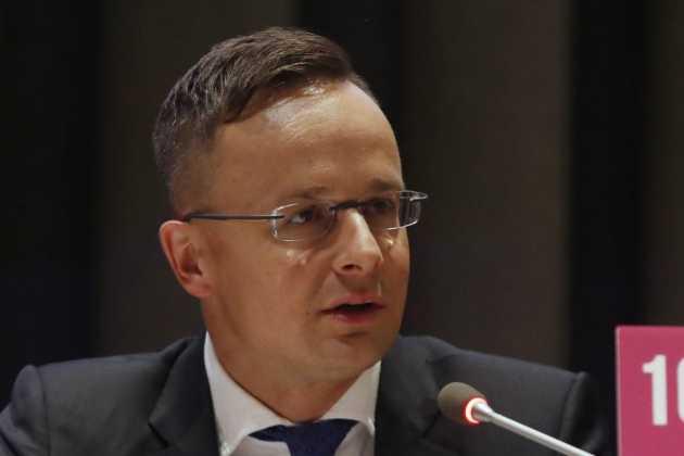 Foreign Minister Peter Szijjarto