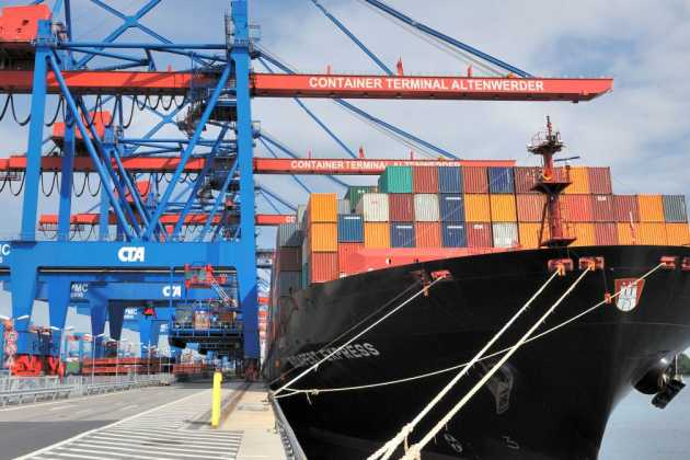 German port