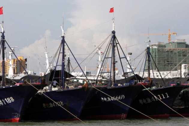 China's fishing boat