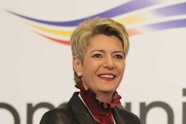 Justice Minister Karin Keller-Sutter
