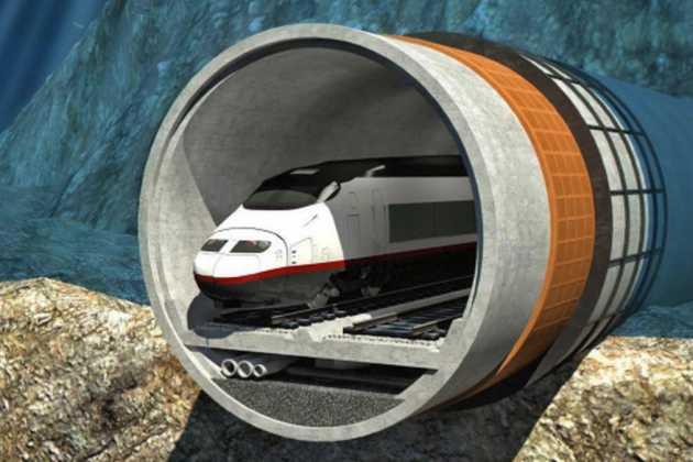 Finland and Estonia tunnel