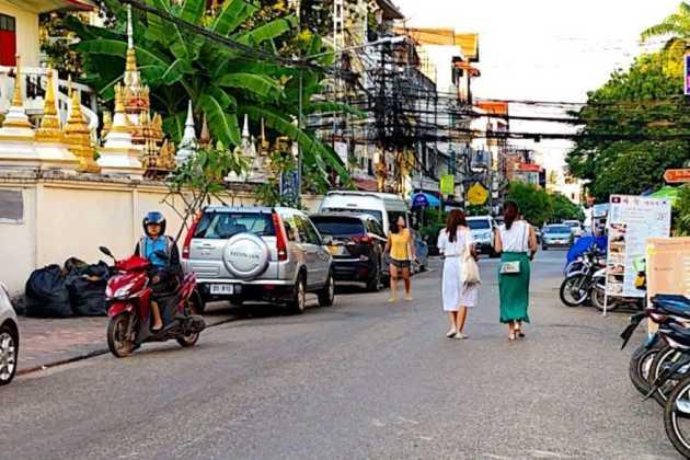 Laos street