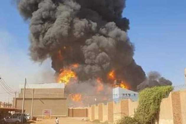 Explosion in Sudan