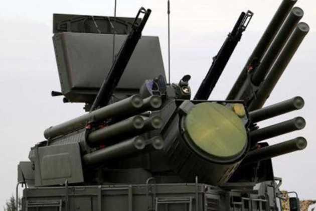 Pantsir-S air defense systems