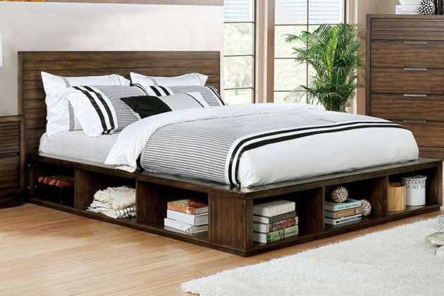 Sleeping room bed