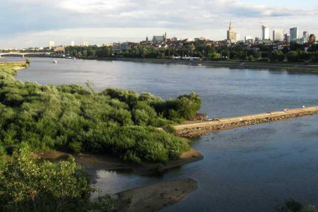 Warsaw Vistula river