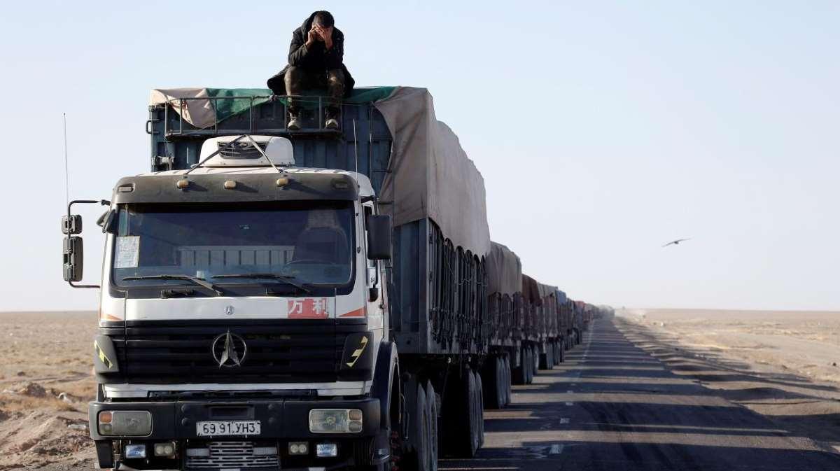 Mongolia's coal exports