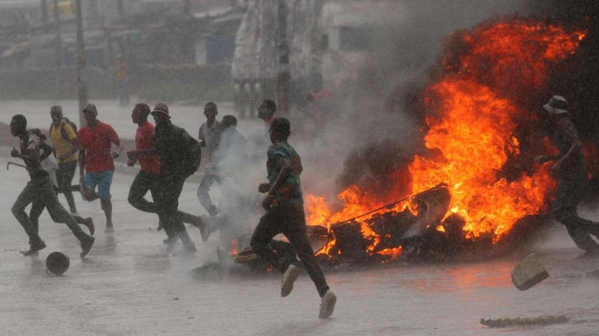 protests Zimbabwe