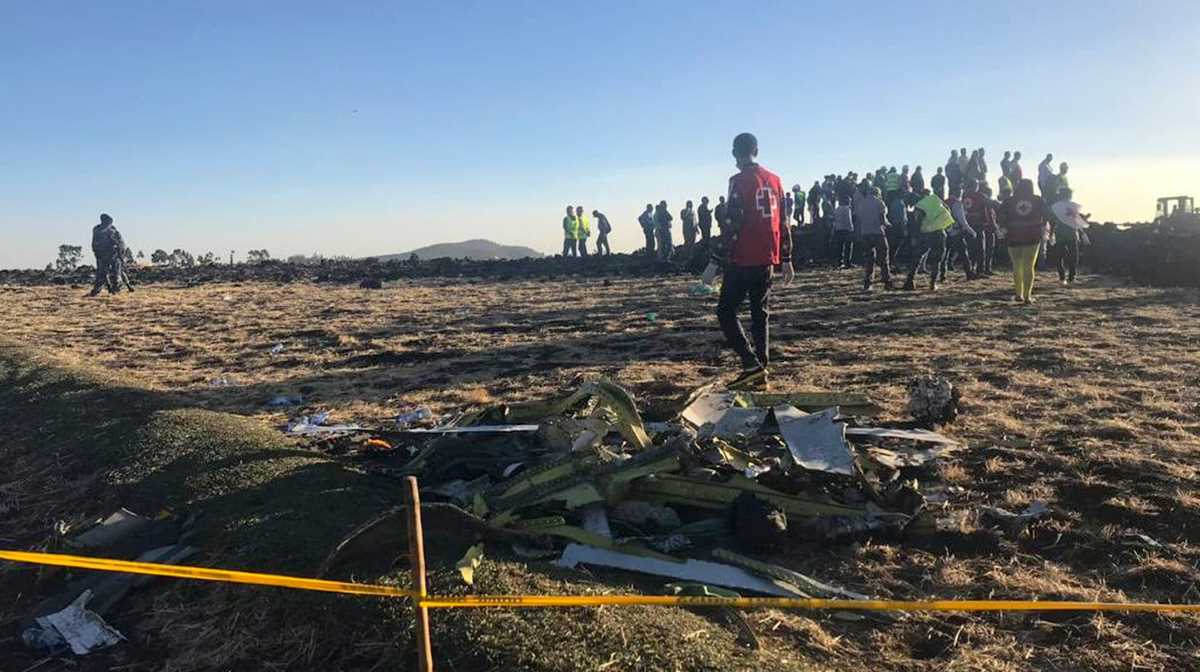 Ethiopian crash