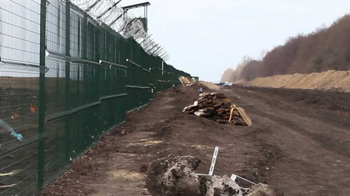 Ukraine Russia border
