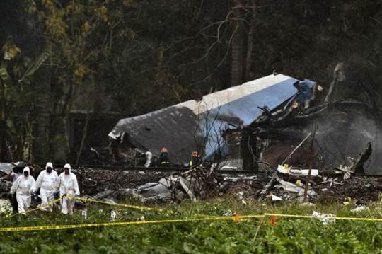 Cuba fatal plane crash
