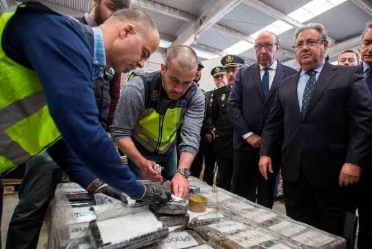 Spain seizes cocaine