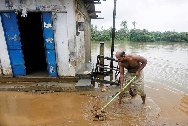 Sri Lanka monsoon rains