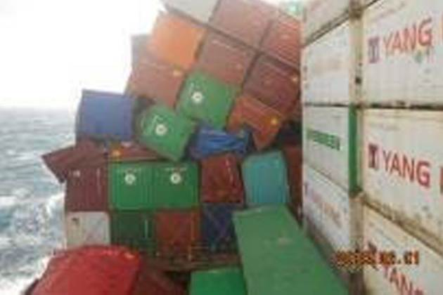 containers fall