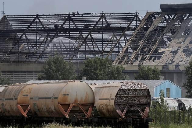 French grain silo explosion