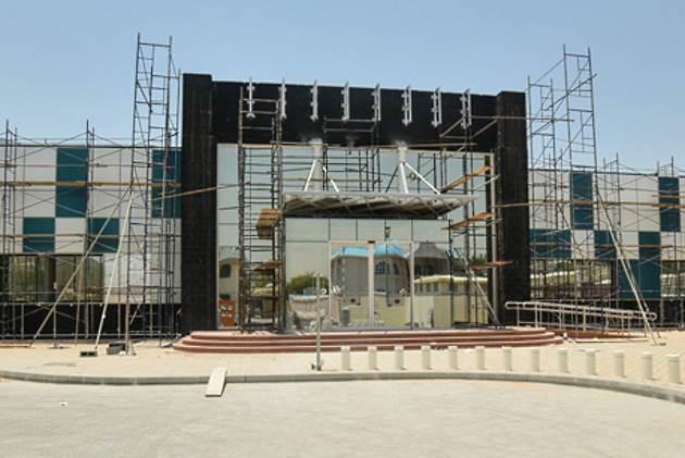UAE coloured solar panel