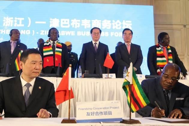 Zimbabwe and China