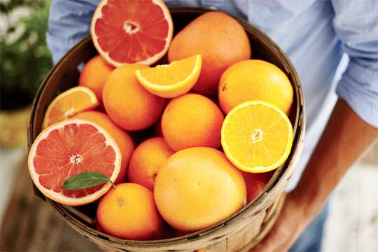 Italy oranges