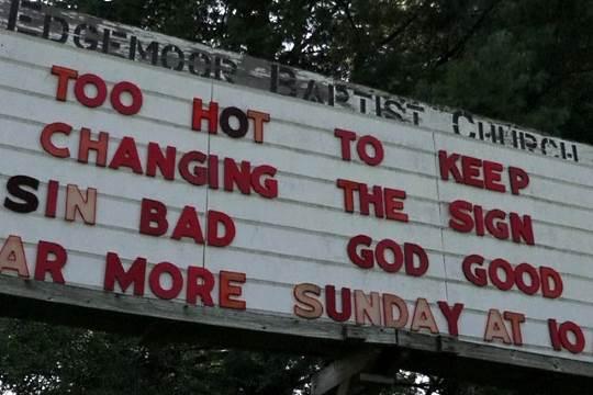 Dangerous heat