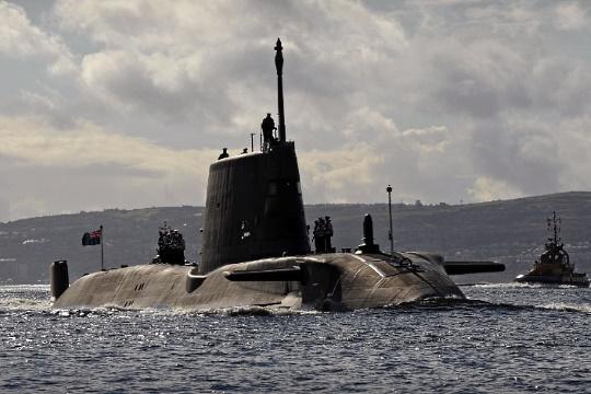 Submarine HMS Ambush