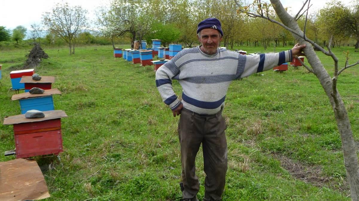 Azerbaijan farmer