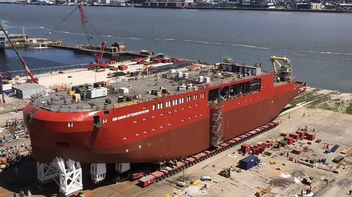 Britain flagship