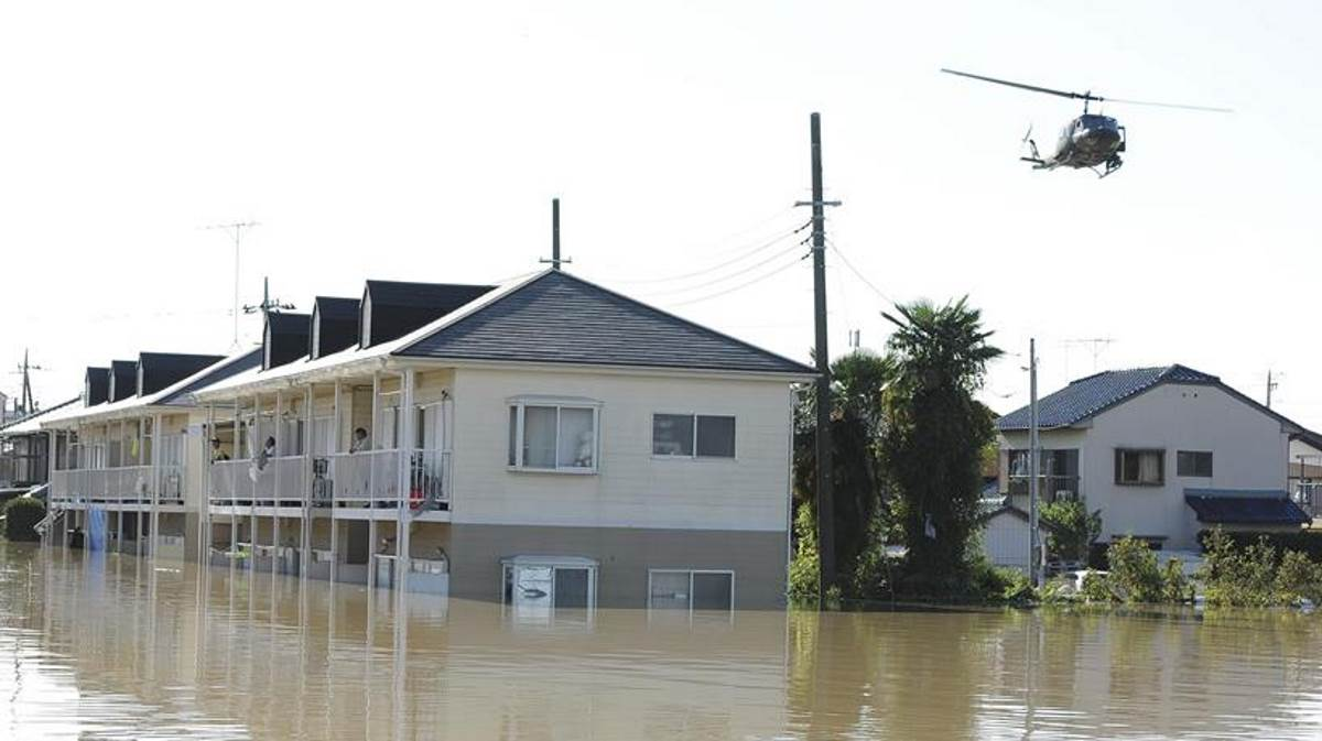 Japan flood disaster