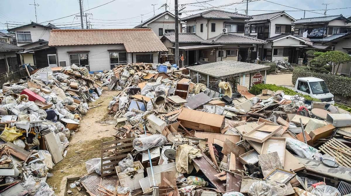Japan flood victims