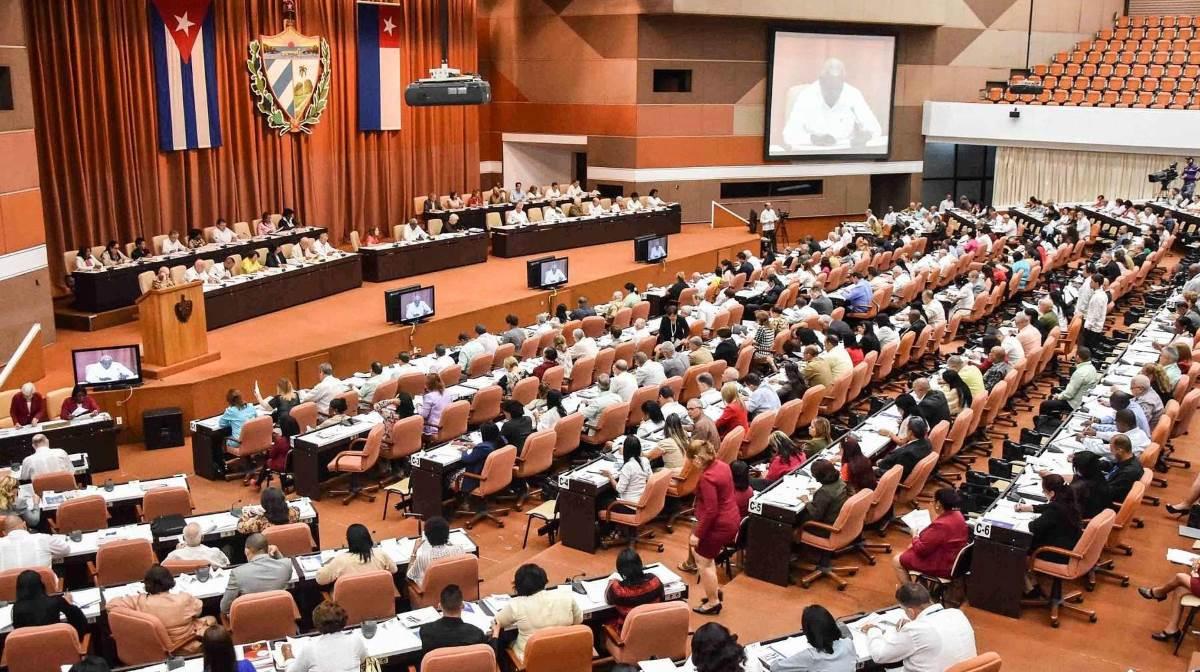 Parliament in Cuba