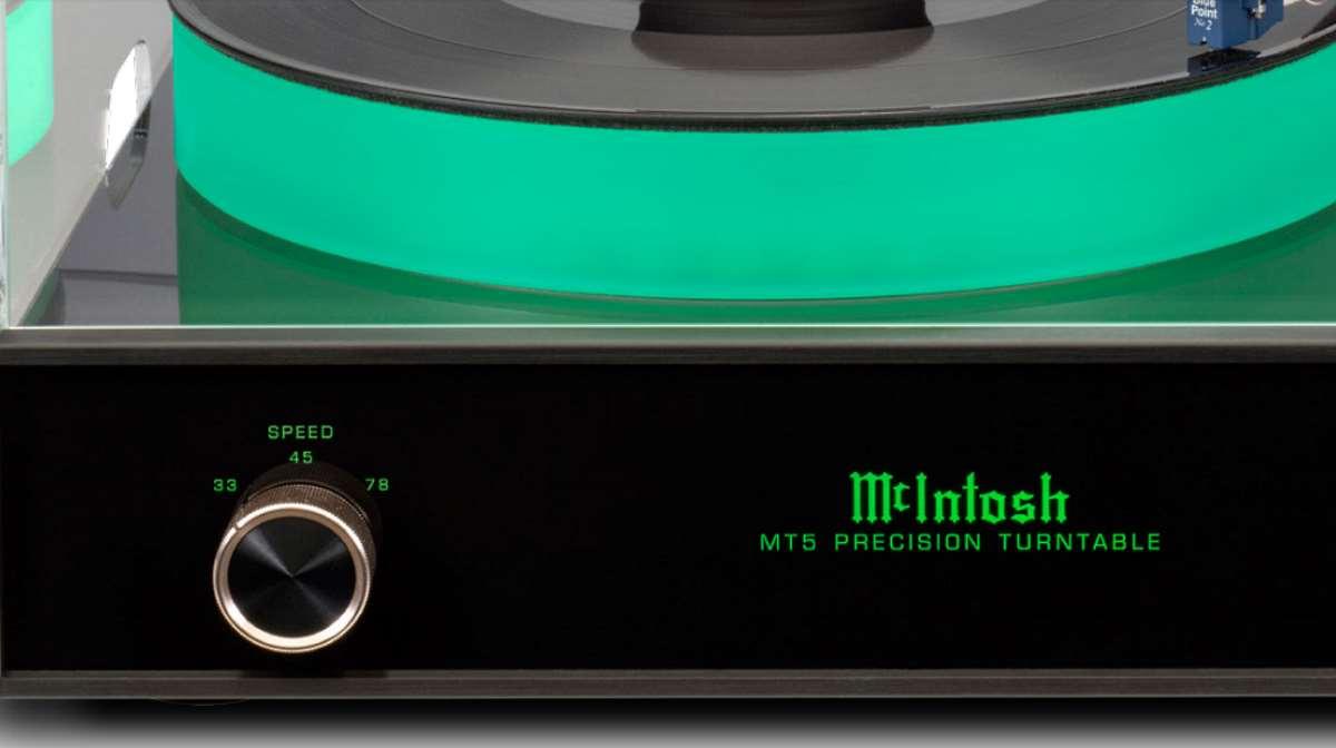 McIntosh MT5 Precision Turntable
