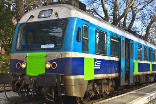 Greece railway