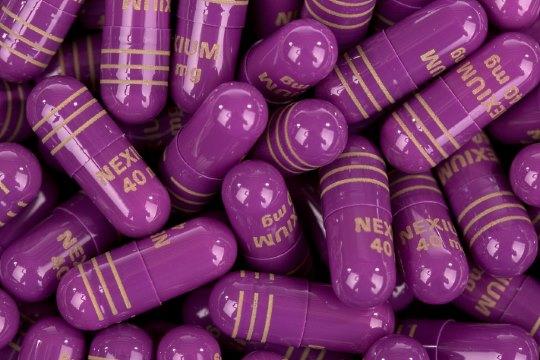 Heartburn pill