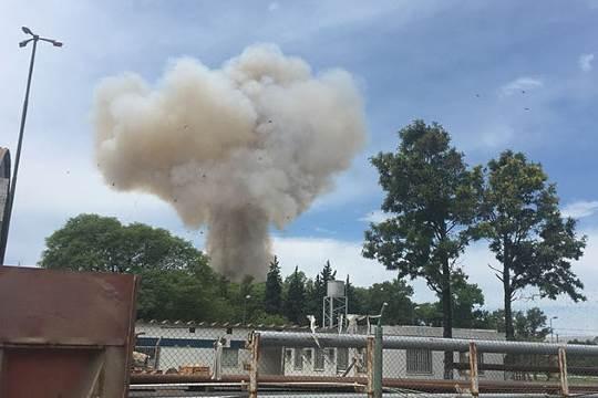 Explosion Argentina Rosario