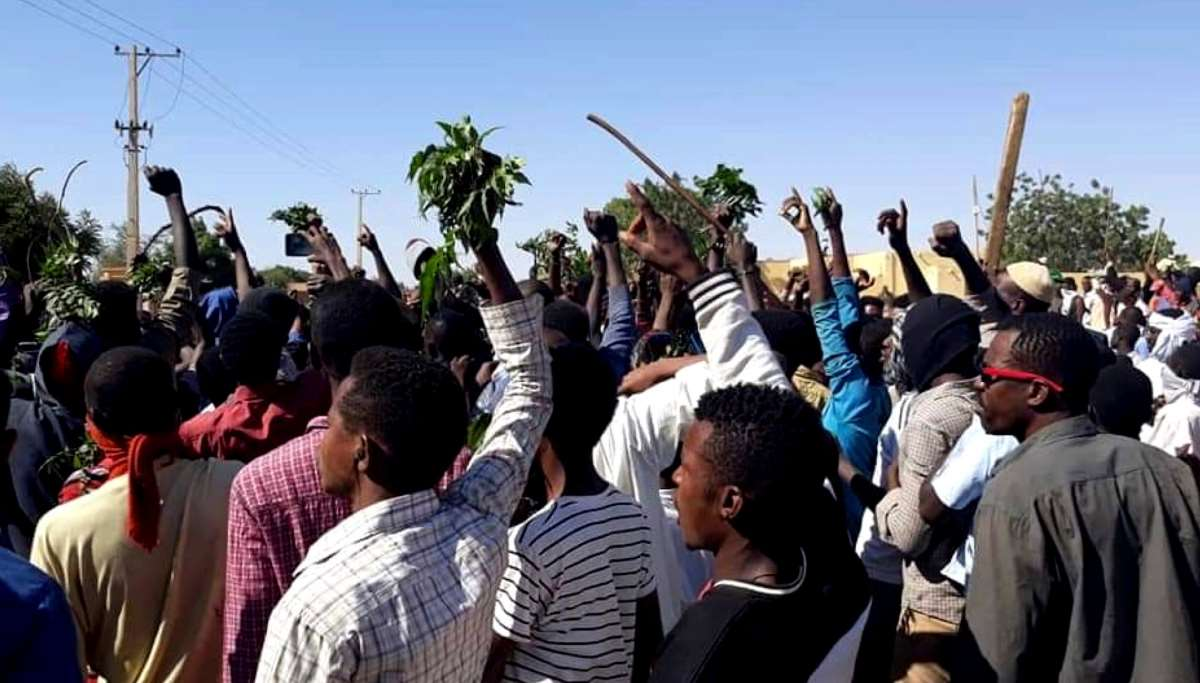 Protests in Sudan