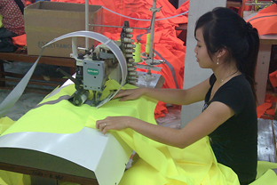 Vietnam textile