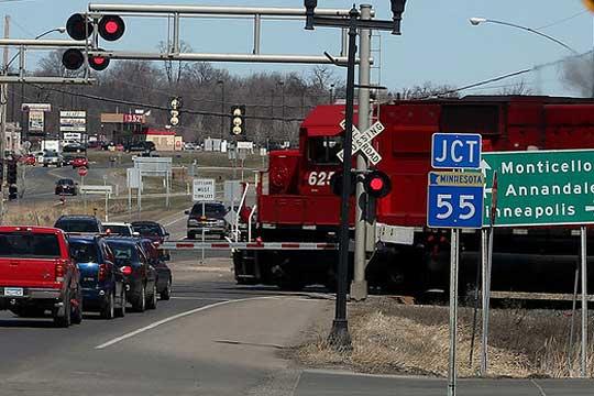 Minnesota rail crossings