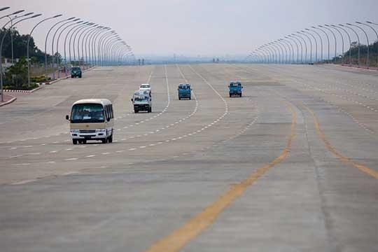 Myanmar highway