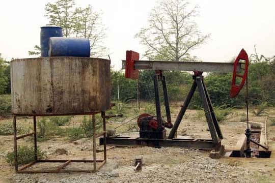 Myanmar oil