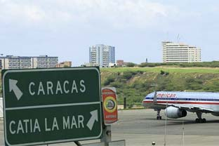 Venezuela airport