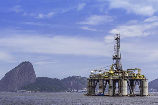 Oil drilling in Brazil