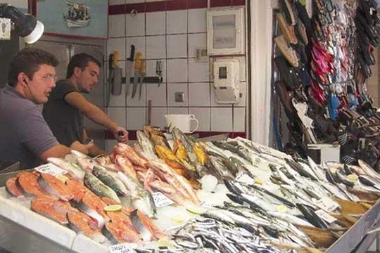 Greece street market