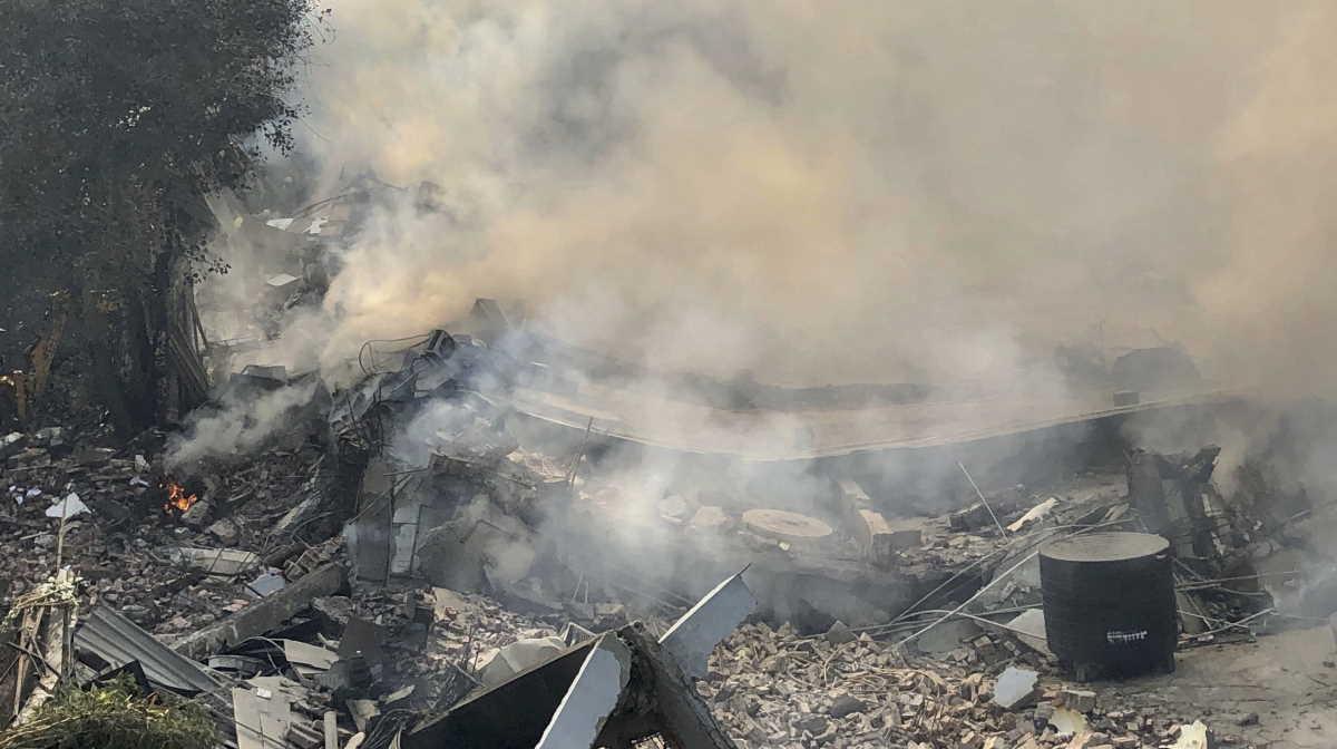 Fire in Delhi's Peera Garhi area